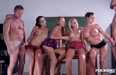 College Orgy With Students