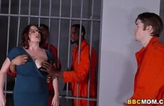 Fat Being Fucked By Prisoners In Prison